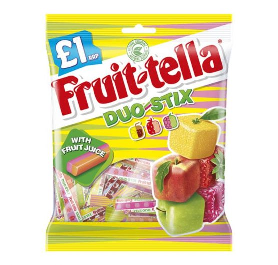 Chew Fruit-tella Bags 135g Duo Stick X 12
