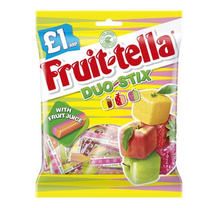 Chew Fruit-tella Bags 135g Duo Stick X 12