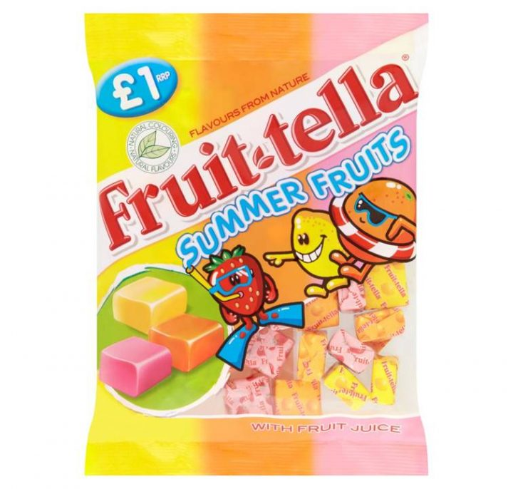Chew Fruit-tella Bags 135g Summer Fruit X 12