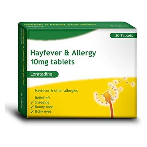 Medicine Bells Hayfever and Alergy Loratadine 14ct X 10