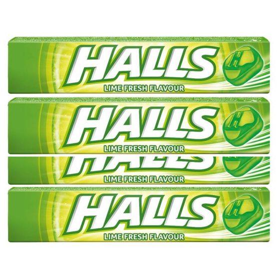 Halls Lime 33.5 g