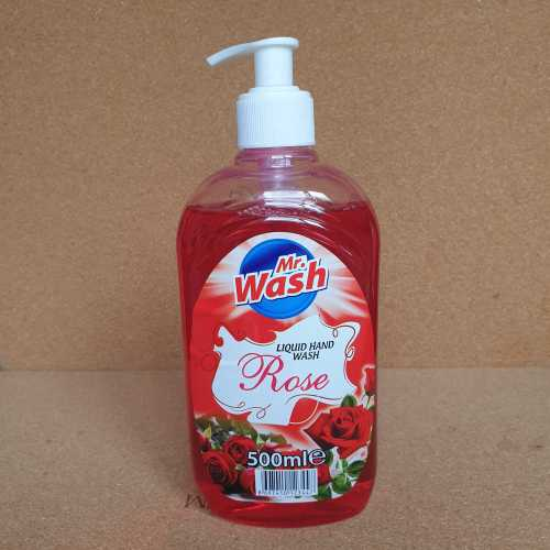 Hand Wash Mr. Wash Rose 500 ml