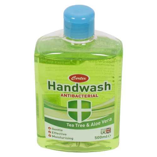 Hand Wash Antibacterial Tea Tree and Aloe Vera 500 ml X 12
