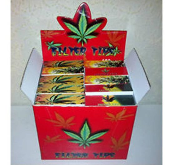 Fiter Tips 4Smoke Red Box 3-Pack 24/Box