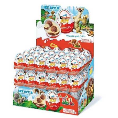 Chocolate Kinder Joy Egg 72 Per Box