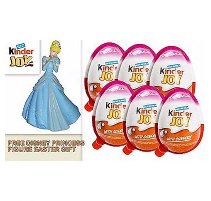 Chocolate Kinder Joy Egg Barbie 24 Per Box