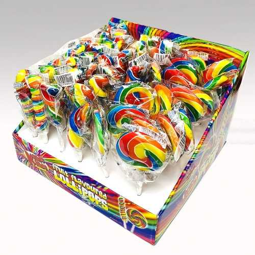 Kandy Kandy Fruit Flavoured Lollipops 17g