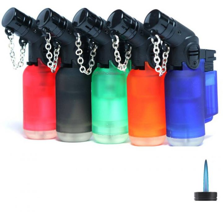 Lighters K Two Angled Electronic Jet Lighters 20 Per Box