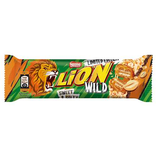 Chocolate Lion Bar Wild Sweet and Salty 43g