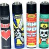 Lighters Clipper Printed Large Card Game X 40