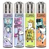 Lighters Clipper Printed Large Unicorn