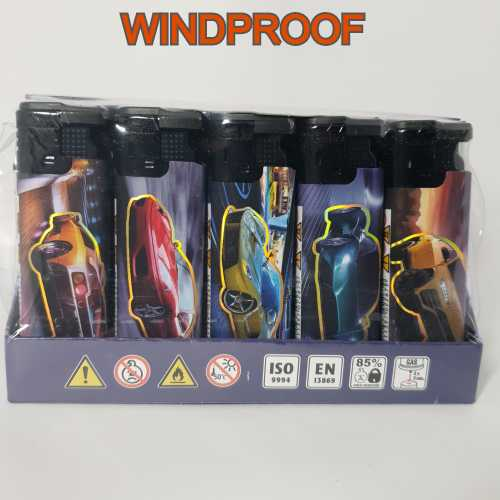 Lighters Windproof Sports Cars X 25