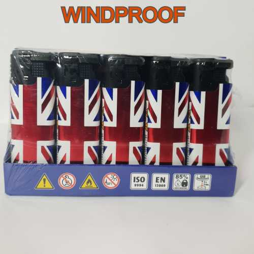 Lighters Windproof Union Jack X 25