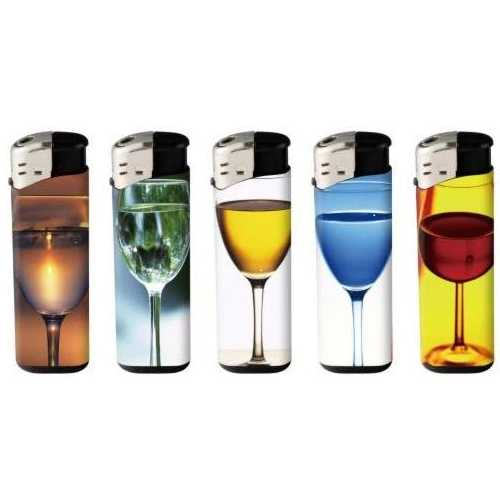 Lighters Electronic Glass Print X 50