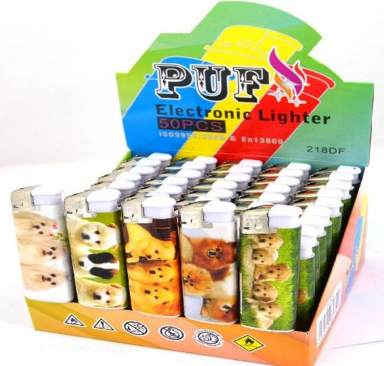 Lighter Puf Electronic 3 PUPPIES X 50