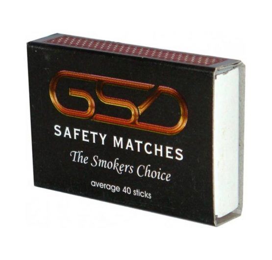 Matches Saftey GSD Small 100 per Box