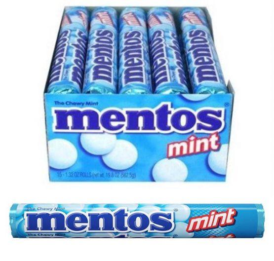 Mentos Mint 37.5 g 40 Per Box