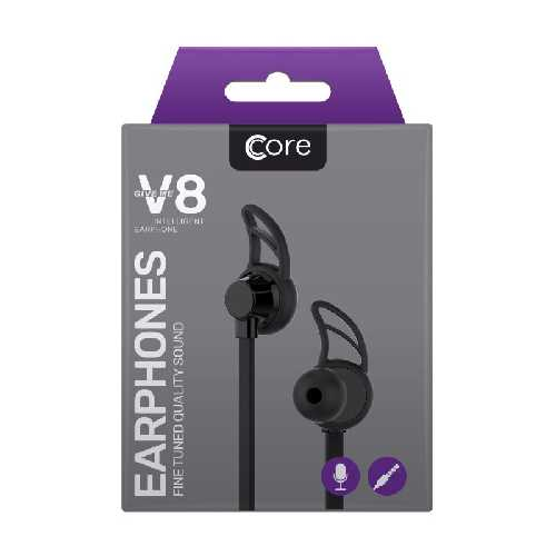 Mobile Phone Accessories Earphones Black V8 1.2M