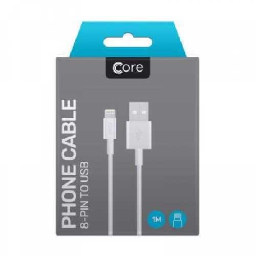 Mobile Phone Accessories I Phone 8 Pin to USB 1 M