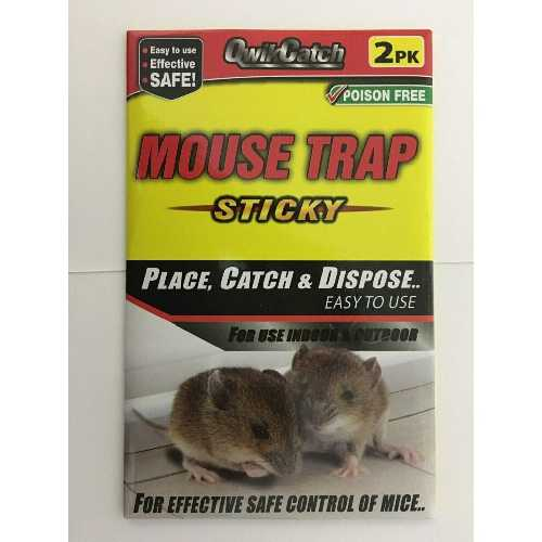 Mouse Trap Sticky 2 Pack X 12