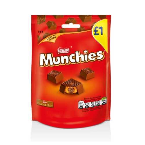 Chocolate Munchies Milk Bag £1 81 g