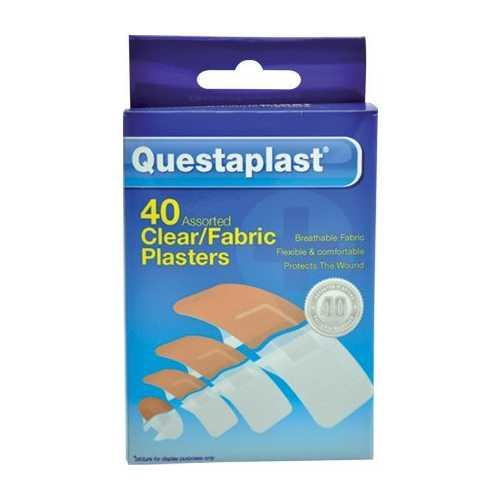Medicine Plasters Questaplast Fabric 40 count X 12