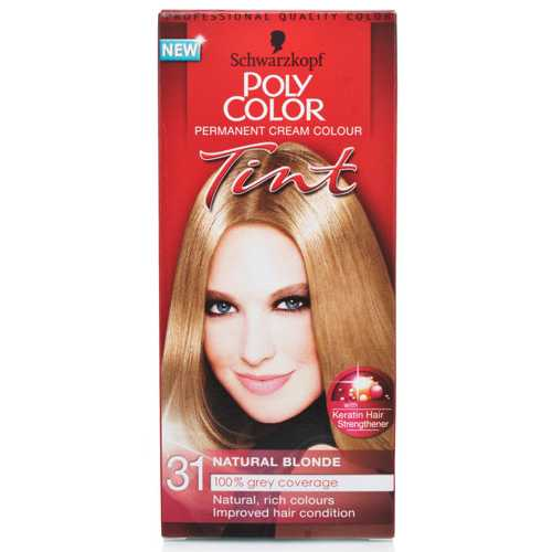 Hair Color Poly Color Tint Natural Blonde #31