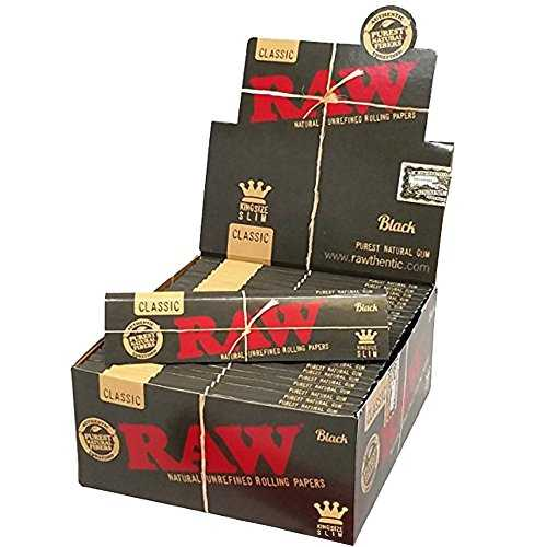 Rolling Paper RAW Classic King Size Black X 50