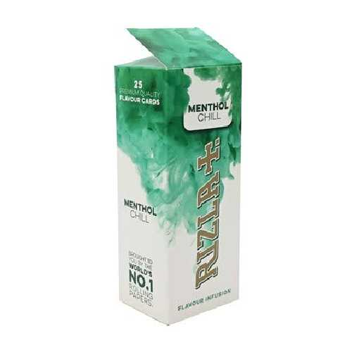 Rizla Flavour Infusion Fresh Menthol Chill Card