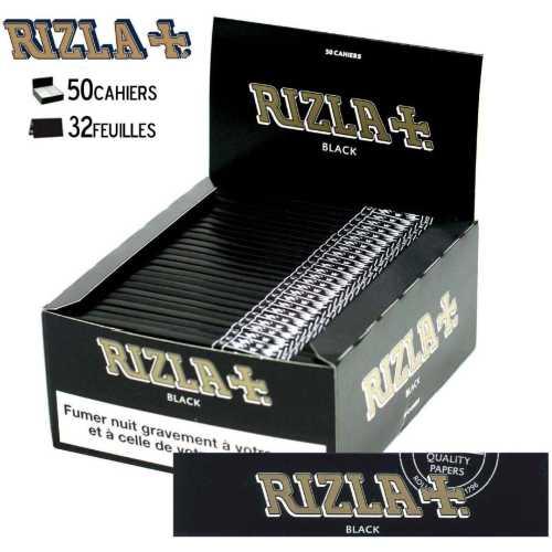Rolling Paper Rizla King Size Black X 50