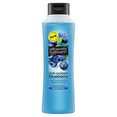 Shampoo Alberto Balsam 350ml Blueberry X 6