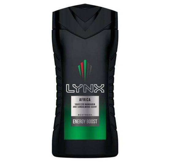Shower Gel Lynx Africa 250ml X 6