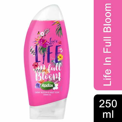 Shower Gel Radox Life in Full Bloom (Pink) 250ml