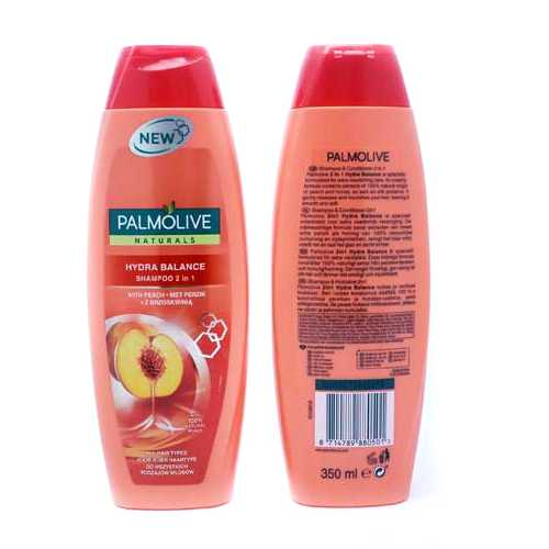 Shampoo Palmolive 2 in 1 Hydro Peach 350 ml