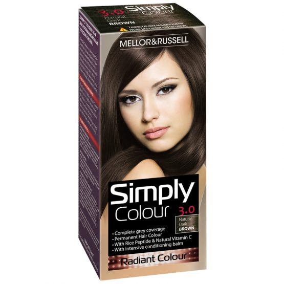 Hair Color Simply Colour Dark Brown X 6