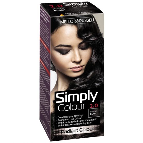 Hair Color Simply Colour Natural Black X 6