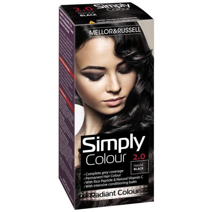 Hair Color Simply Colour Natural Black X 6