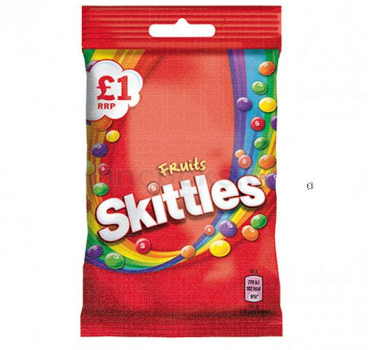 Chocolate Skittles Fruits 125 g Bag £1
