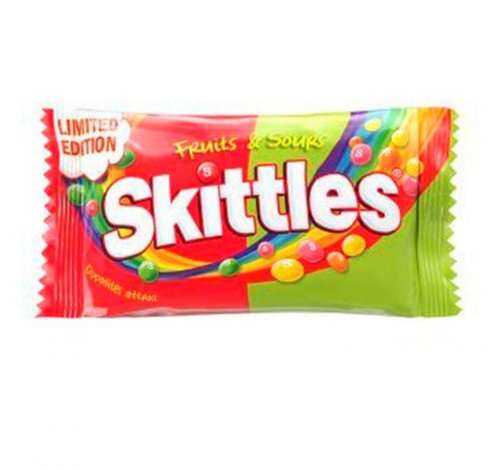 Skittles Fruits n Sour 55 g