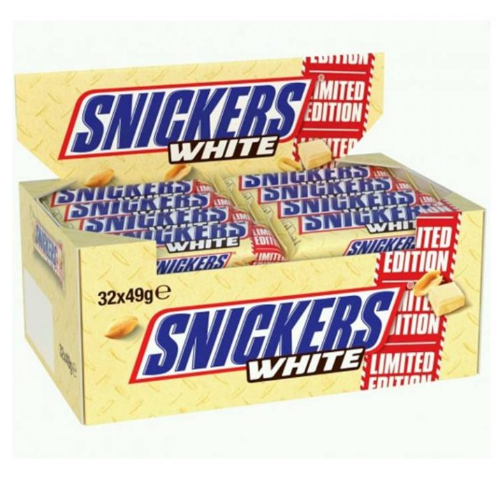 Chocolate Snickers Bar White 49 g