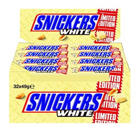 Chocolate Snickers Bar White 49 g-1