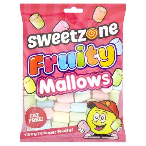 Sweet Zone Fruity Mallows 140g