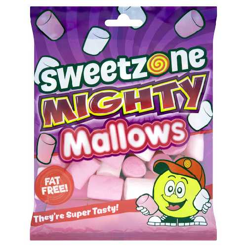 Sweet Zone Mighty Mallows 140g X 10