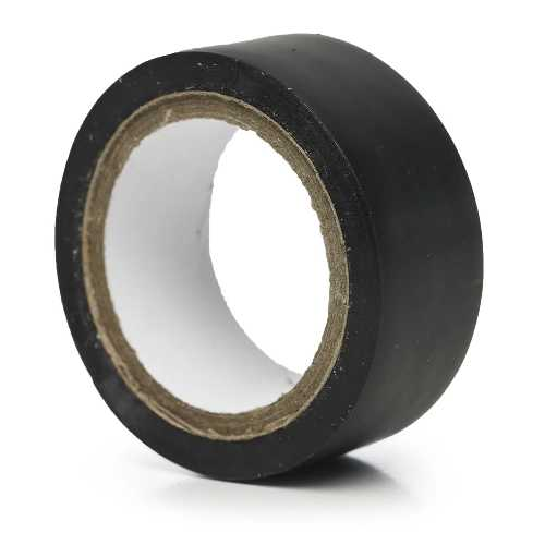 PVC Insulation Tape Black 19mm x 4.5m X 8
