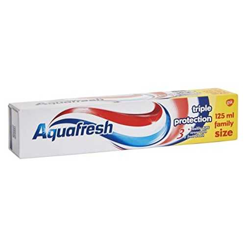 Tooth Paste Aqua Fresh Triple Protection 125 ml