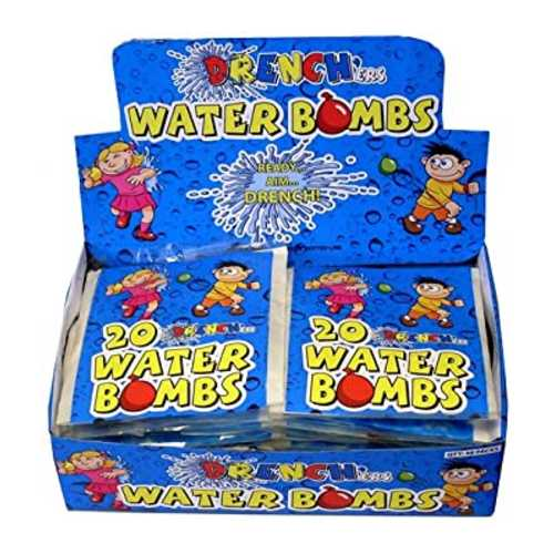 Water Bombs Drenchers 20 ct x 48
